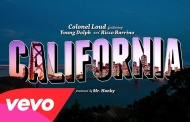 Colonel Loud - California ft. Young Dolph, Ricco Barrino (Lyrics Video)
