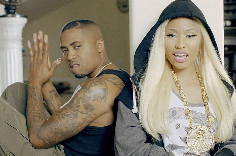Nicki Minaj Dating Nas